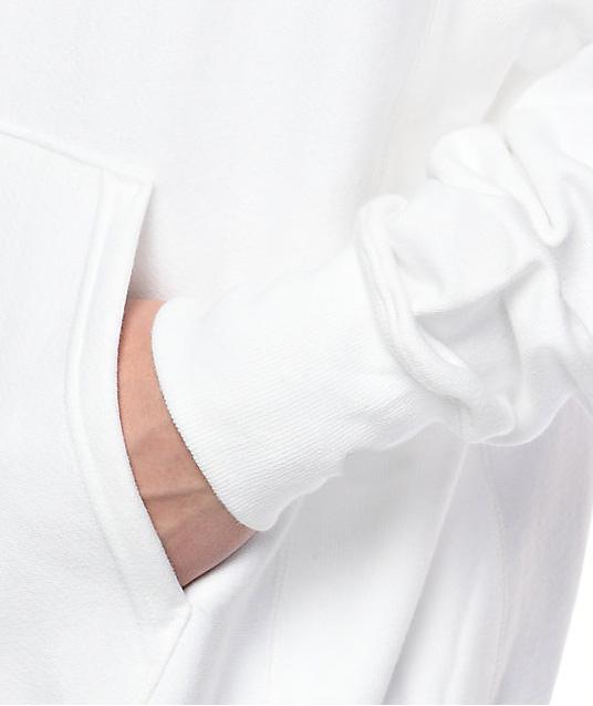 product-Ruiteng-Wholesale High Quality White Hoodie Custom Cotton Mens Hoodies-img