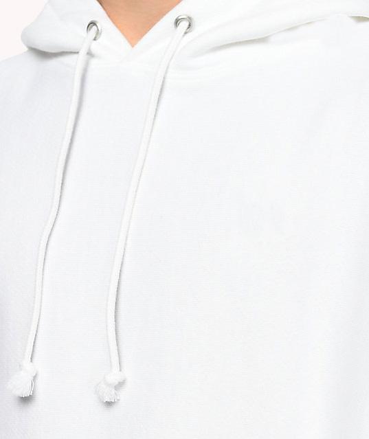 product-Wholesale High Quality White Hoodie Custom Cotton Mens Hoodies-Ruiteng-img