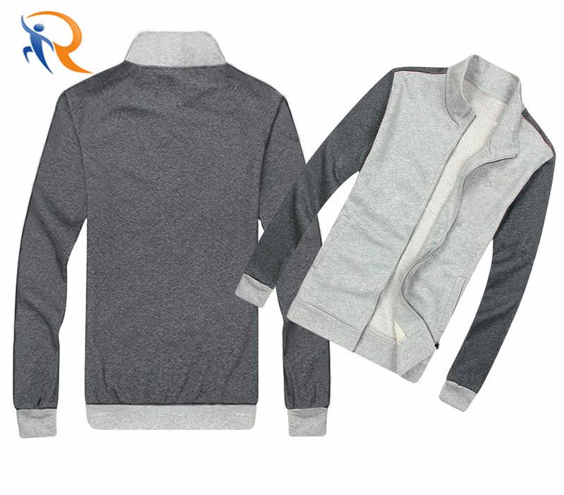 Wholesales OEM Custom High Quality Men's Tracksuit Jogging Top Bottom Sport Sweat Suit Trousers Hoodie Coat Pants