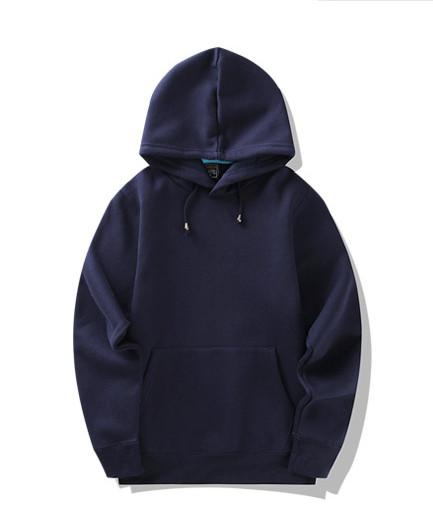product-Ruiteng-Custom Wholesale Blank Black Pullover Men Hoodies-img