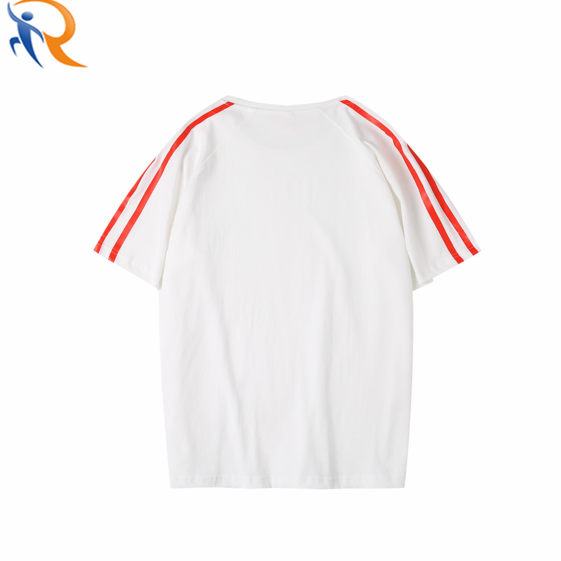 Wholesales Summer Girls Round Neck T-Shirts Short Sleeve Women Casual T Shirt Plain 100% Cotton Tshirt
