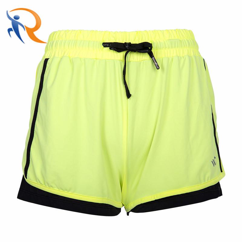 Custom Fashion Sports High Waist Elastic Waist Sun Protection Cotton Soft Cooling Women Shorts