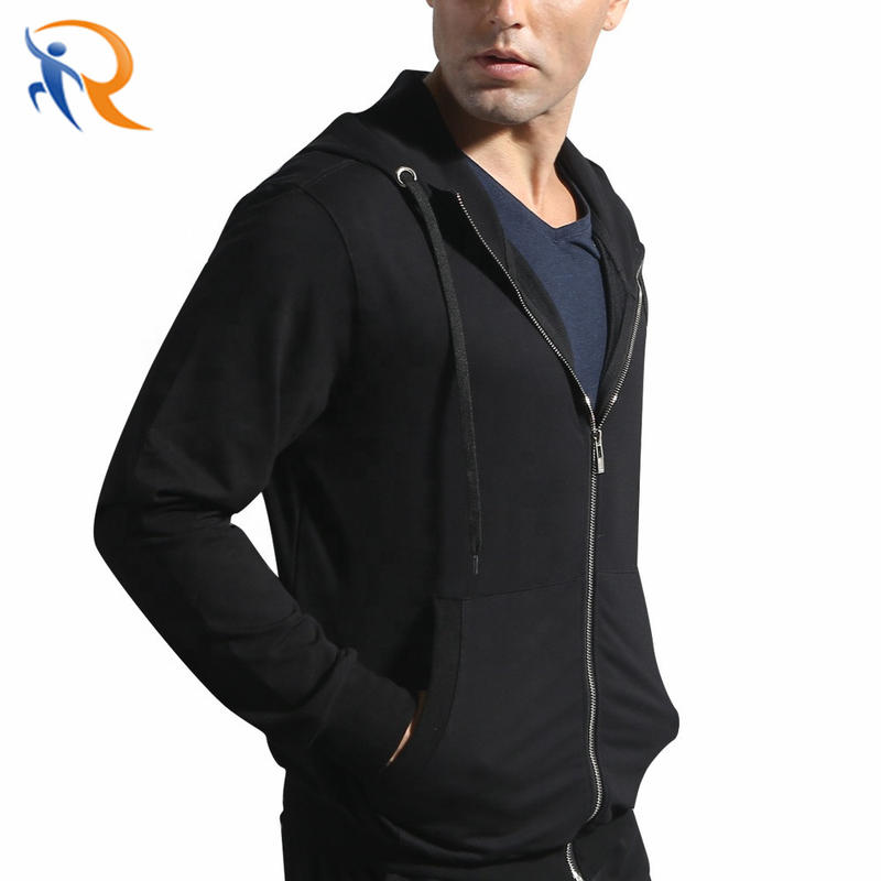 Sports Suit Men Running Suit Casual Sports Fitness Clothes Hoody Cotton Coat