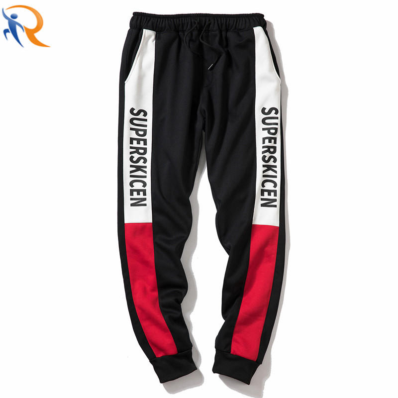 Mens Polyester Jogger for Gym Training Fitness and Black Sweatpants Jogger Pants