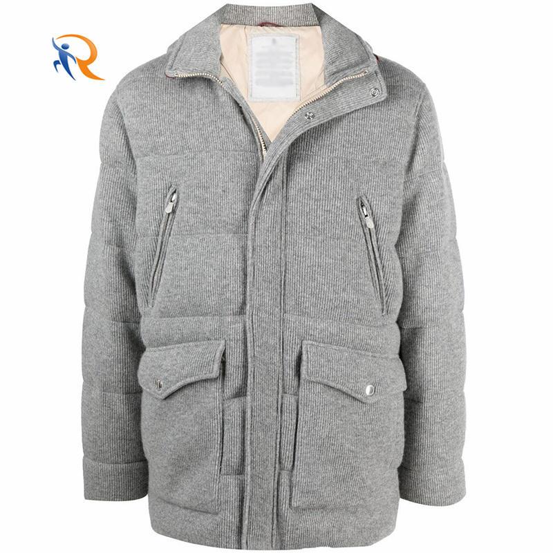 Customized men's down jacket wholesale winter men's coat large size warm coat clothing