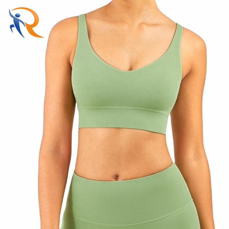 Wholesale Custom Summer Women Sport Wear Fitness Yoga Wear Seamless Yoga Suit