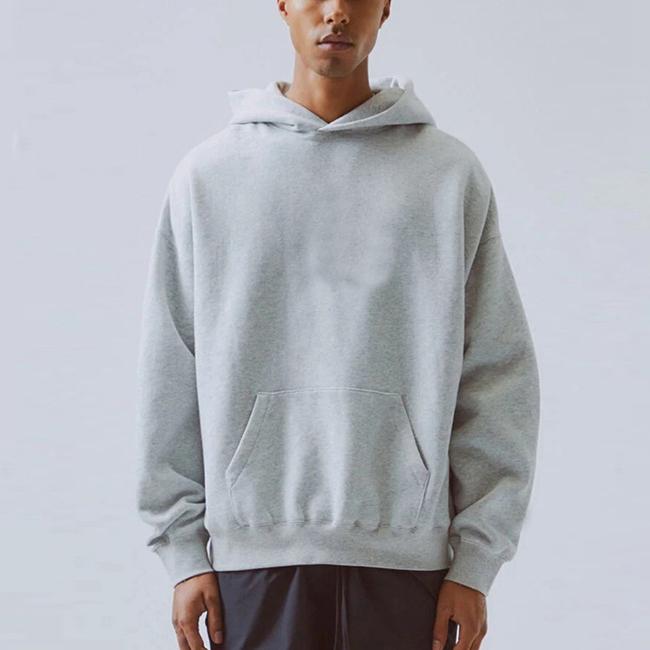 product-Wholesale Street Fashion Men Oversized Custom Print Pullover Heavy Hoodie-Ruiteng-img