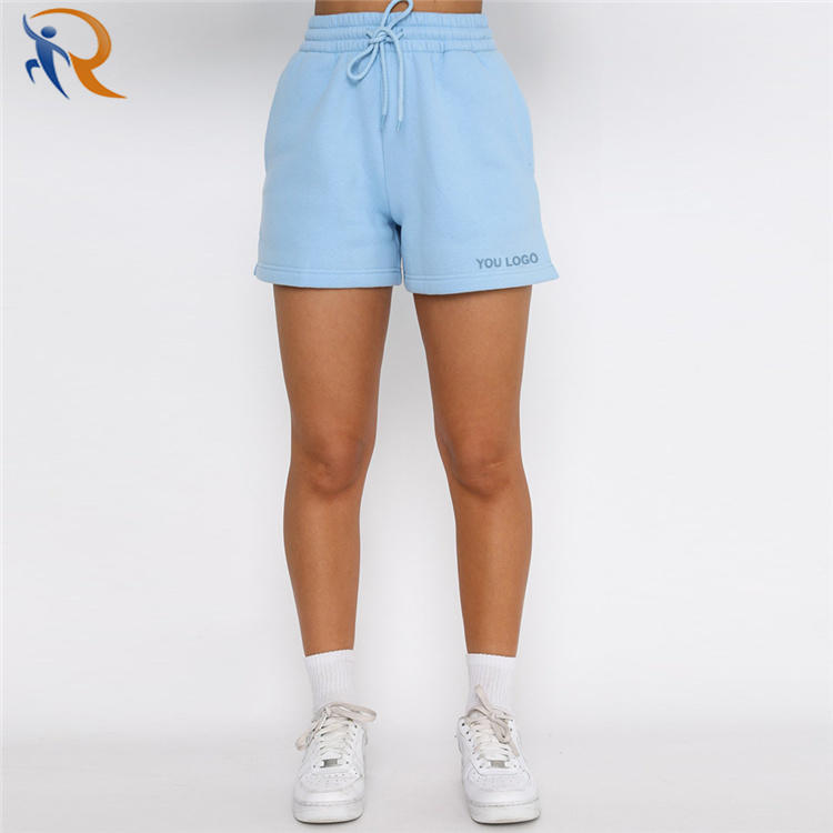 Mujer Sweat Jogger Workout Athletic Cotton Fitness Ladies Short Gym Biker Summer Women Shorts