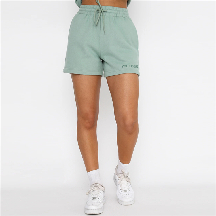 product-Ruiteng-Mujer Sweat Jogger Workout Athletic Cotton Fitness Ladies Short Gym Biker Summer Wom