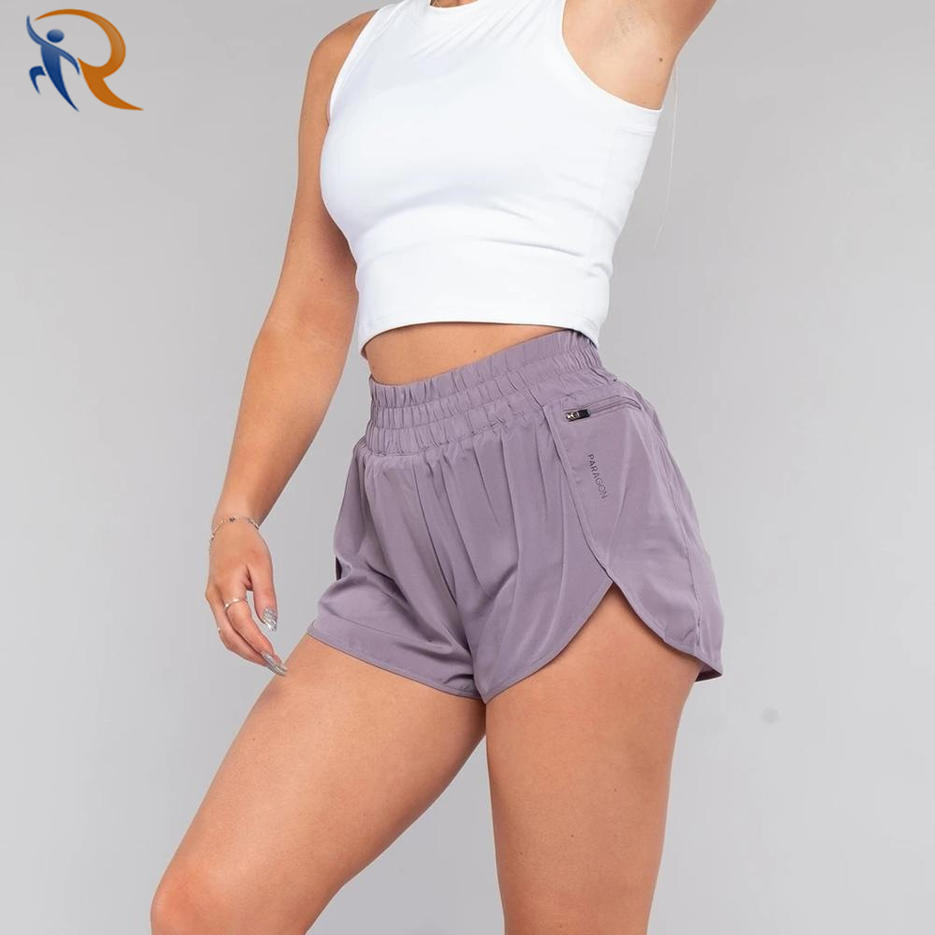 New Release Customize Polyester Women Running Quick-Dry Women Shorts