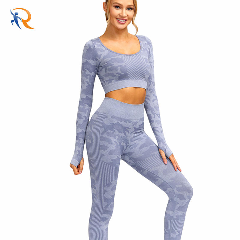 Wholesale Women Extra Soft Non See-Through Compression Seamless Yoga Wear