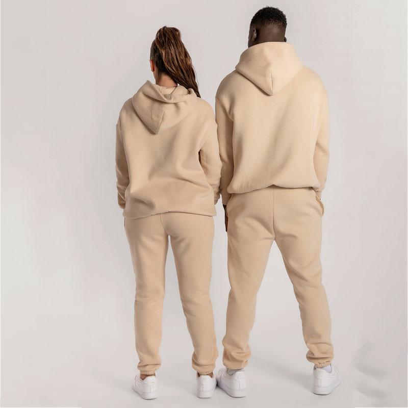 product-Custom Sport Wear Jogging Printing Casual Unisex Sweatsuit 2 Piece Set Track Suits Tracksuit