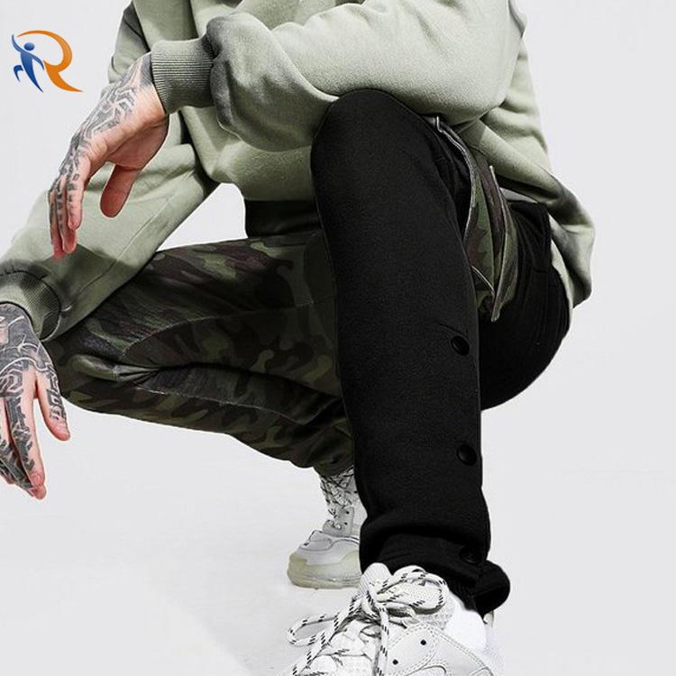 Wholesale Fashion Street Wear Patchwork Mens Track Pants Joggers