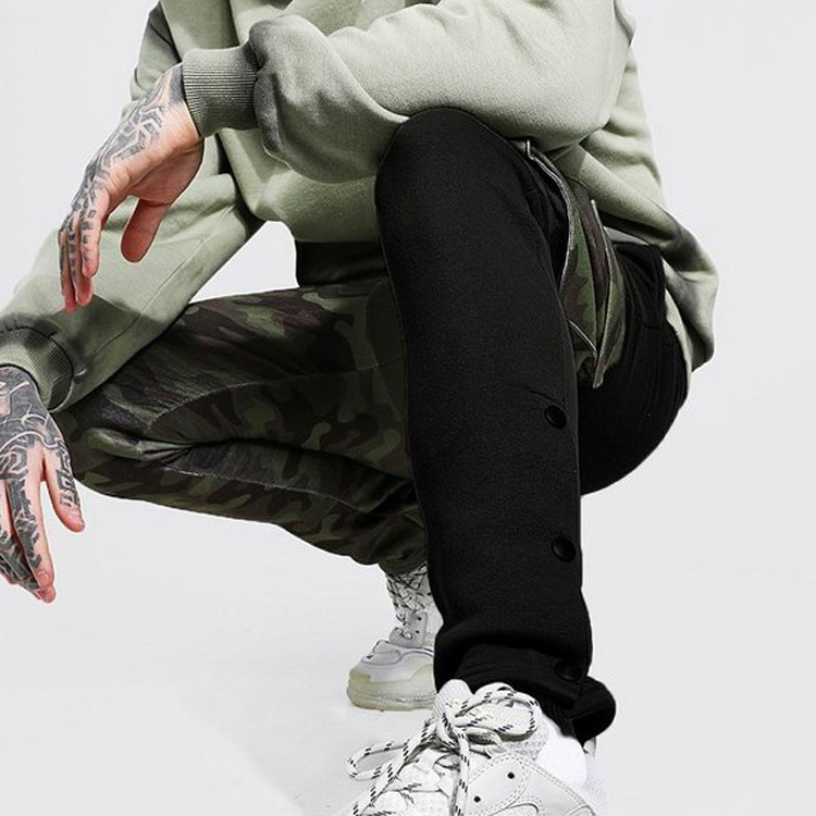 product-Ruiteng-Wholesale Fashion Street Wear Patchwork Mens Track Pants Joggers-img
