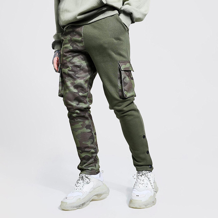 product-Wholesale Fashion Street Wear Patchwork Mens Track Pants Joggers-Ruiteng-img