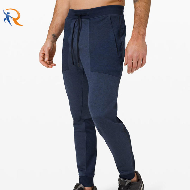 Vogue Style Joggers for Men Sports Fitness Training Men′s Trackpants Tie up Pants Custom Men Joggers