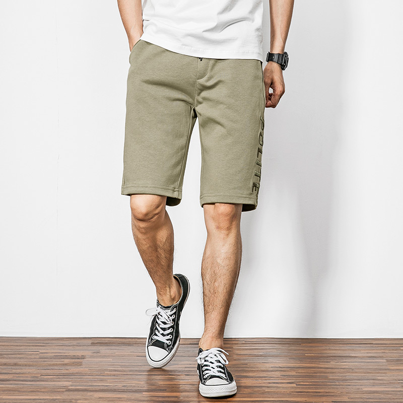 product-Ruiteng-Wholesale Embroidery Custom sweat shorts Casual cotton shorts Mens Fashion Joggers C