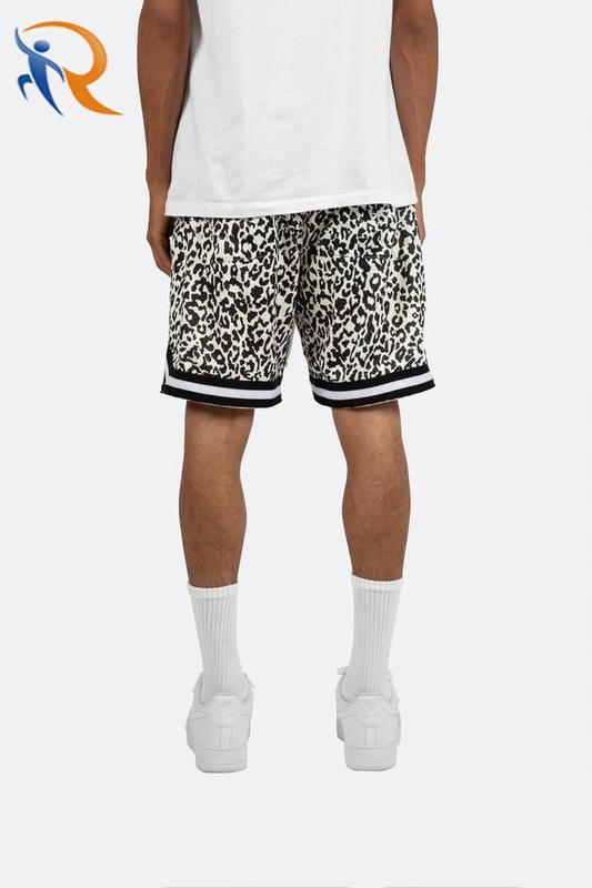 Wholesale Fashion Running Basketball Shorts Mesh Custom Print Summer Mens Shorts