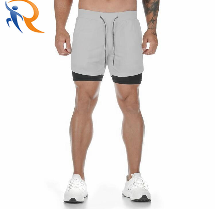 Running Trouser Quick Dry Moisture Wicking Gym Athletic Workout Shorts Pant for Men with Phone Pockets
