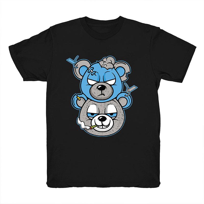 product-Ruiteng-Wholesale Money Teddy Bear Streetwear Men Tshirt Summer Custom O Neck Tshirt Men 100