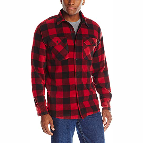 product-Wholesale Plaid SpringAutumn OEM Service Flannel Mens Shirts-Ruiteng-img