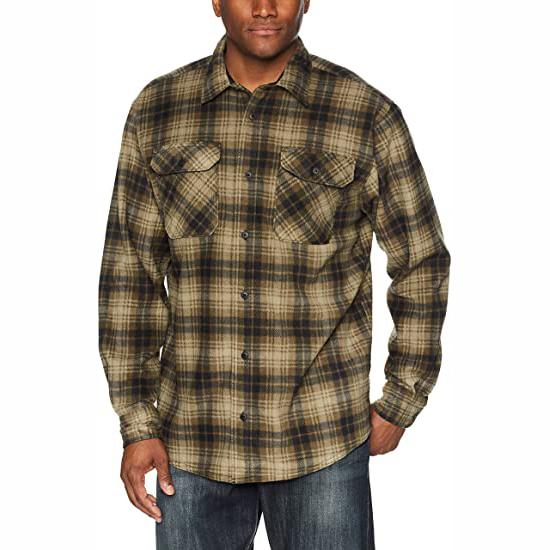 product-Ruiteng-Wholesale Plaid SpringAutumn OEM Service Flannel Mens Shirts-img