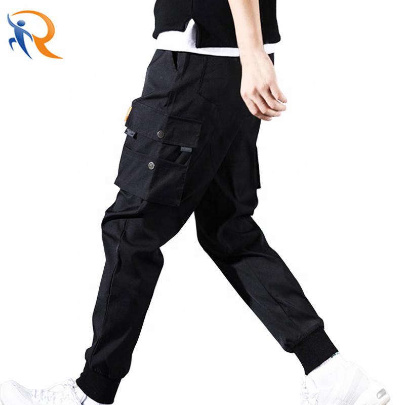 Spring Cargo Pants Multiple Pockets Trousers Men Hip Hop Harem Sports Trouser Jogger Mensweatpants