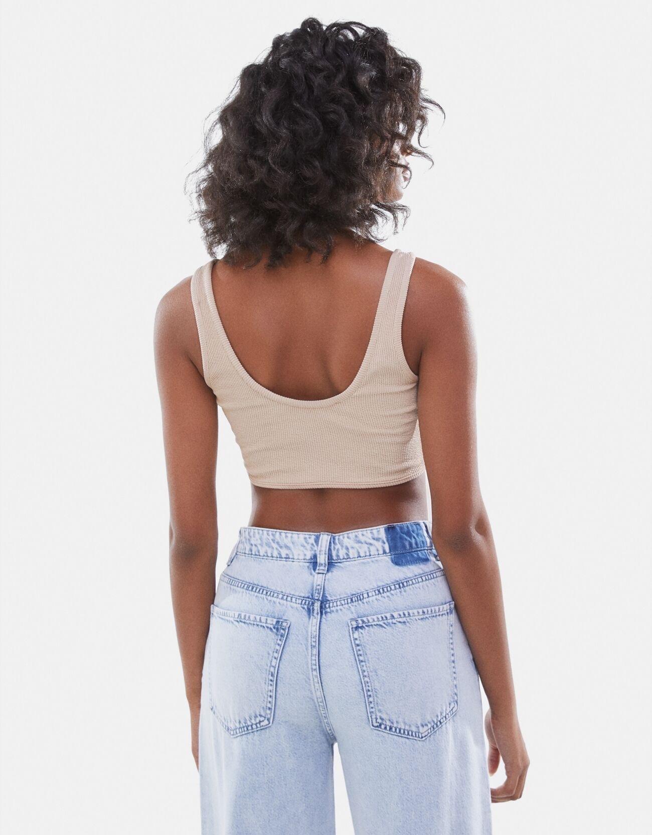 product-2021 Summer Custom Breathable Women Knit Ribbed Vest Y2k Sexy Slim Fitness Basic Sleeveless
