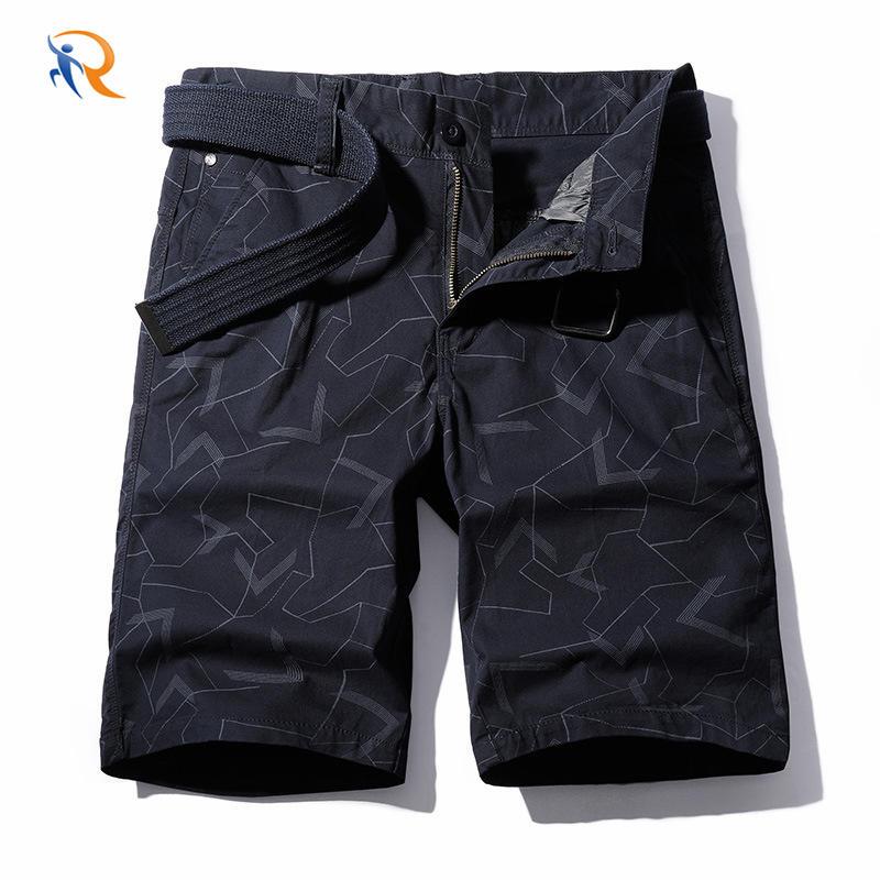 Summer New Custom Logo Streetwear Big Pocket Mens Shorts
