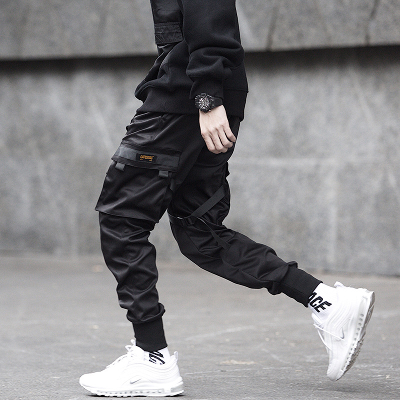 product-Wholesale Custom Fashion Cotton Autumn Winter Gym Wear Men Jogger Pants Sport Running Athlet