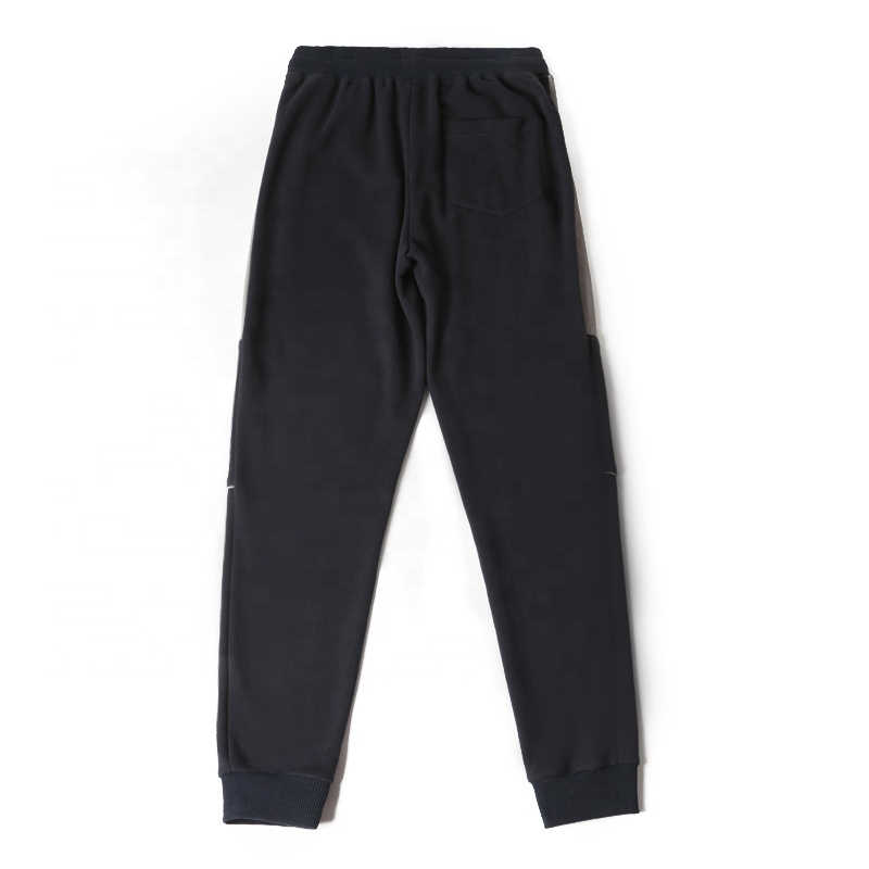 product-Ruiteng-French terry sweat pants mens loose OEM Men′s Sport Cotton Custom Casual Embroidered