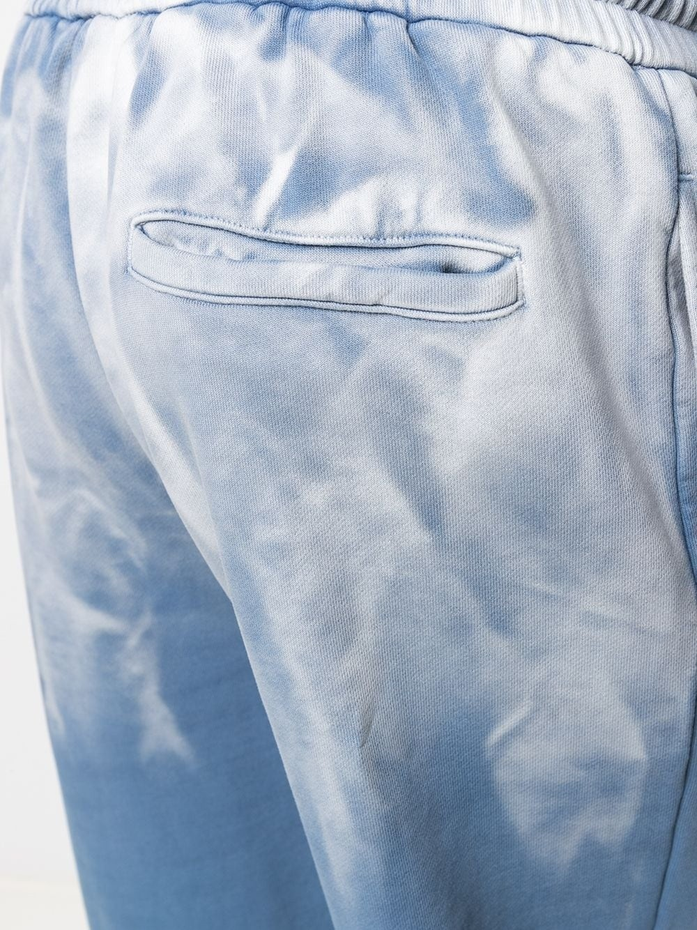 product-Men Custom Sky Blue Tie-dye Color Trousers Custom Color Dyed Sports Pants-Ruiteng-img