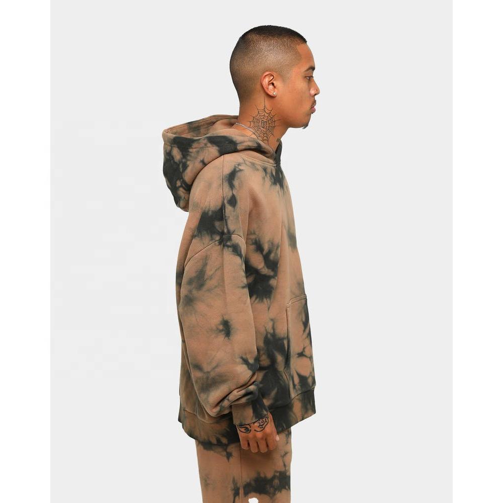 product-Men Hoodies Plain Tie Dye Hoodie Custom Printed Logo Printing Hoodies Oversized Custom Stree