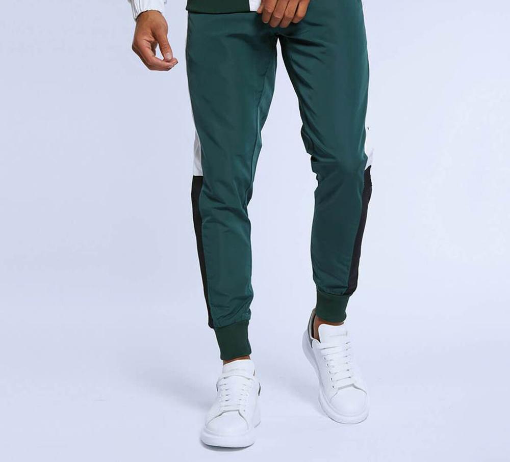 product-Customized Running Tracksuit Men Sweatshirt Sports Set Gym Clothes Men Sport Training Suit S