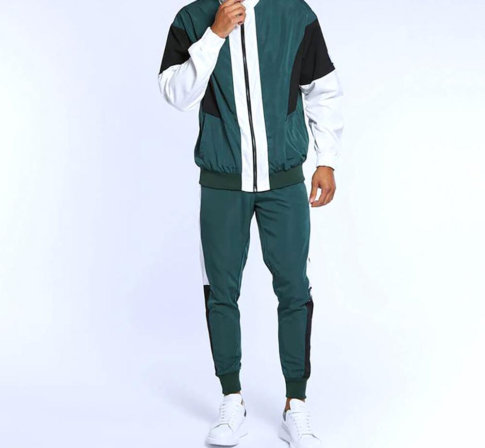 product-Ruiteng-Customized Running Tracksuit Men Sweatshirt Sports Set Gym Clothes Men Sport Trainin