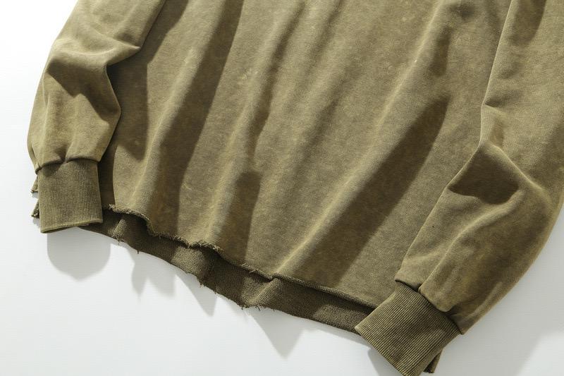 product-Ruiteng-Wholesale Custom Logo High Quality Vintage Acid Wash Oversized Mens Off Shoulder Cre