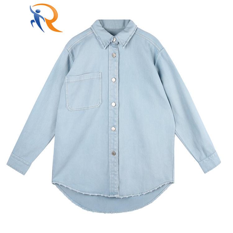 High Quality Office Shirt Long Sleeve Cotton Women Shirt