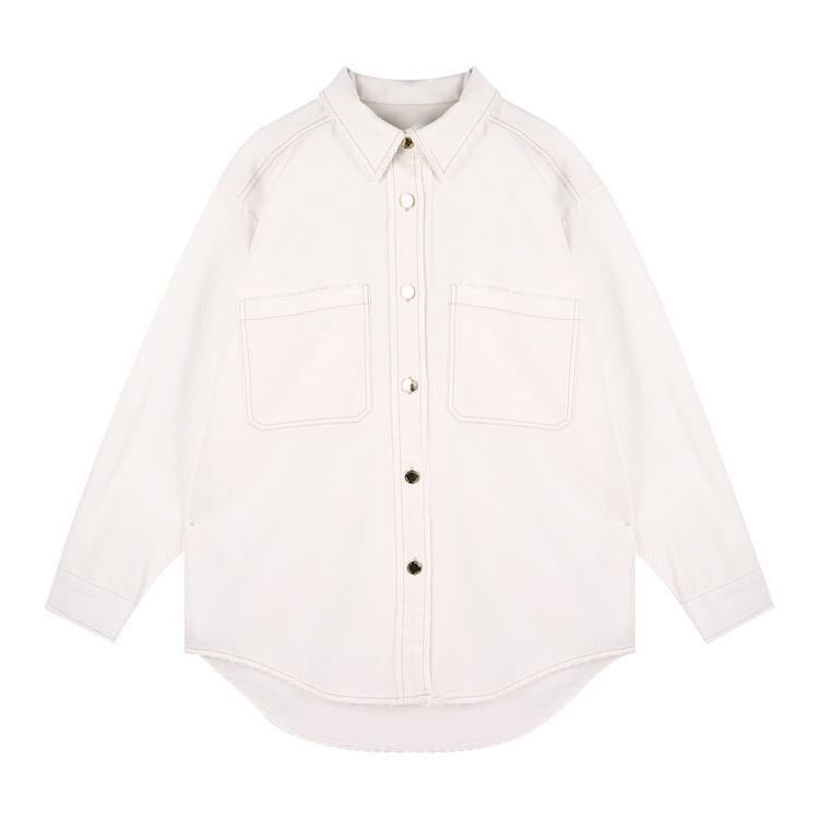product-Ruiteng-High Quality Office Shirt Long Sleeve Cotton Women Shirt-img
