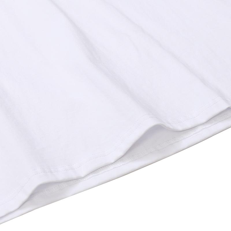 product-Ruiteng-OEM Customize Logo Mens Embroidered Plain TshirtsWholesale Cotton O Neck Mens T-shir
