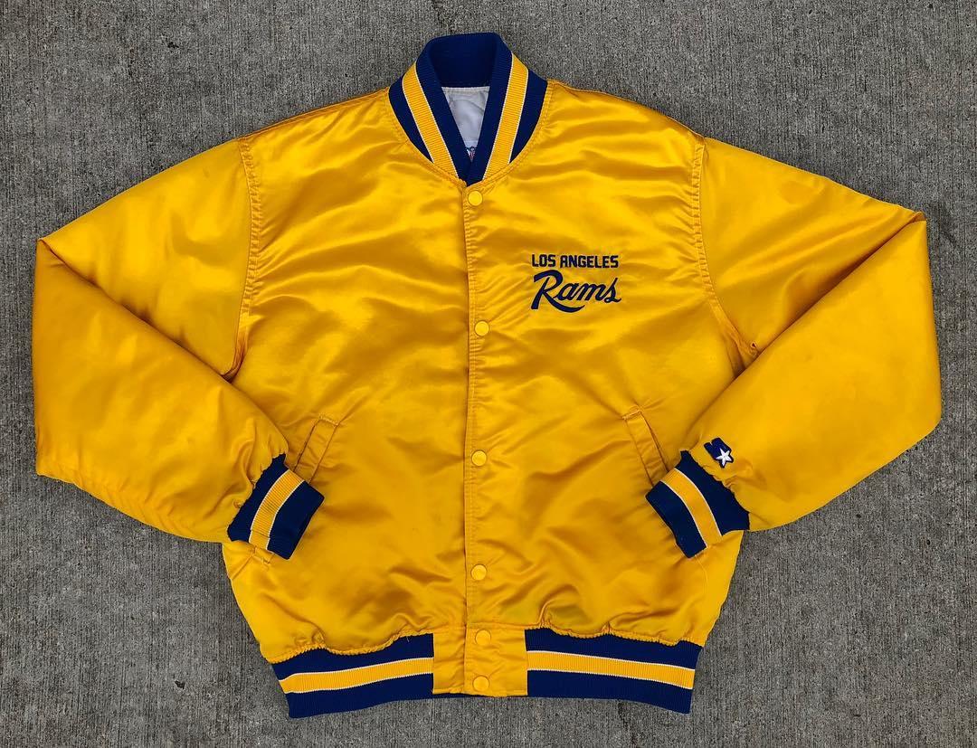 product-Custom Team Sports Jacket WhiteBlue Warriors Starter Mens Varsity Satin Jackets-Ruiteng-img