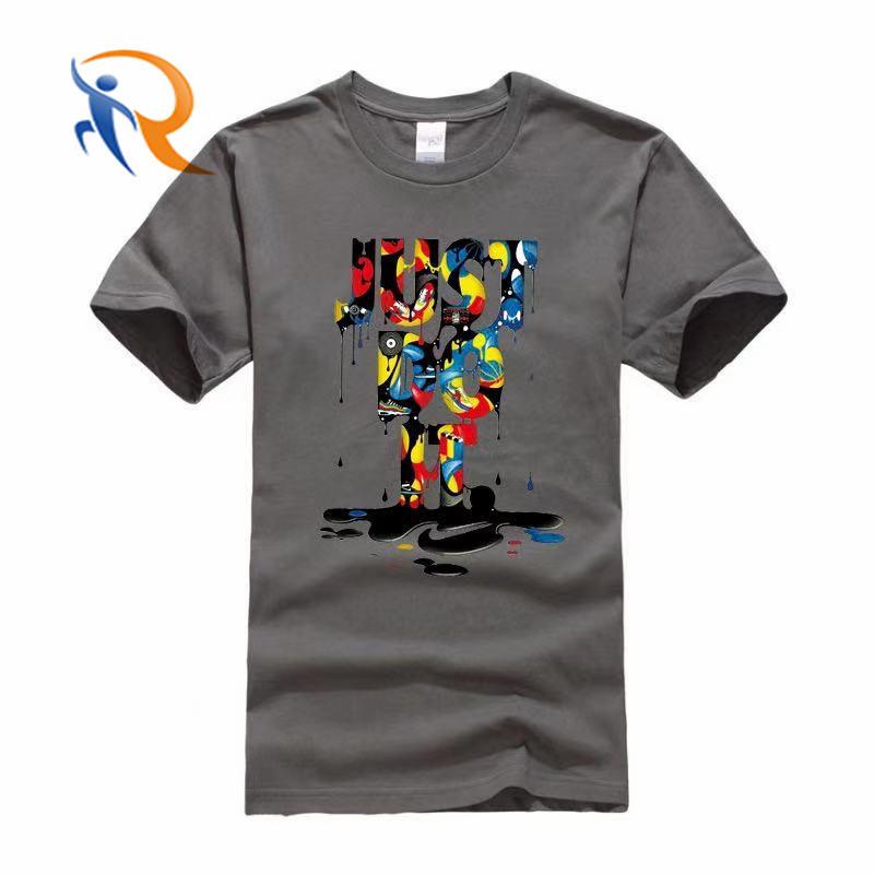 Summer 2021 new fashion 100% cotton custom tshirt 15 colors letter graphic short sleeve men tshirt casual shirts
