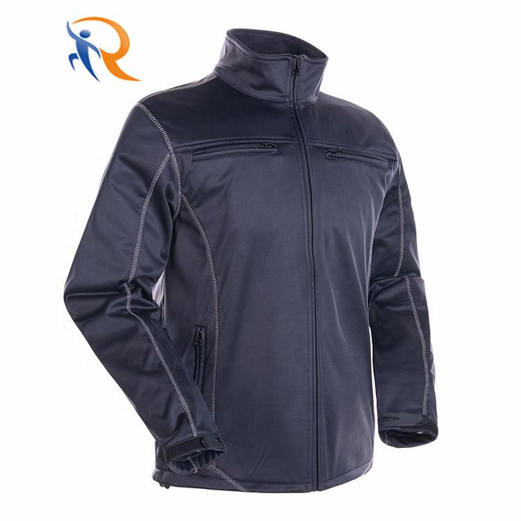 Windstopper Custom Men Waterproof Sport Soft Shell Jacket Softshell Fleece Jacket