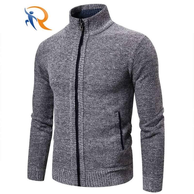 Men's Cardigan Long Sleeve Knitwear Casual Outdoor Sports men's knit sweater winter jacket