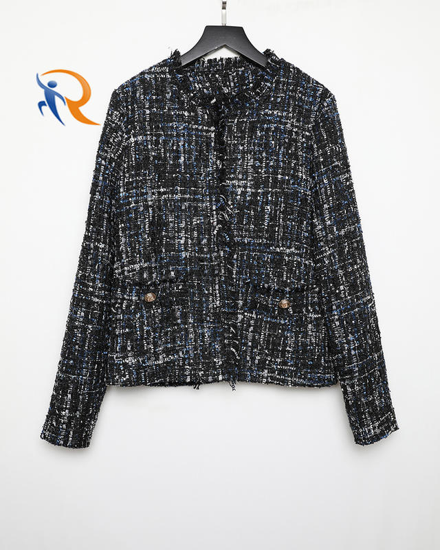 Hot Selling Women Winter Coats And Jacket For Woman Jacket Tweed Wholesale In China