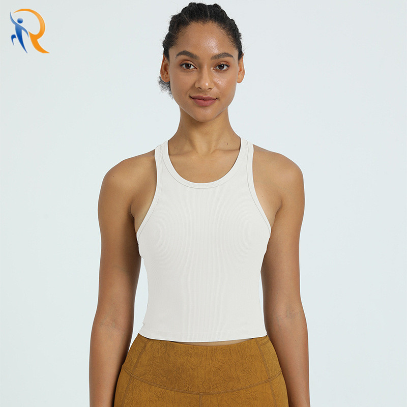 product-New Arrival Women Fitness Sportwear Gym Clothes Body Shape Tank Top-Ruiteng-img
