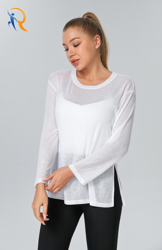 Women Fashion Apparel Trendy Clothing Sports Wear Yoga Shirt Gym Blouses