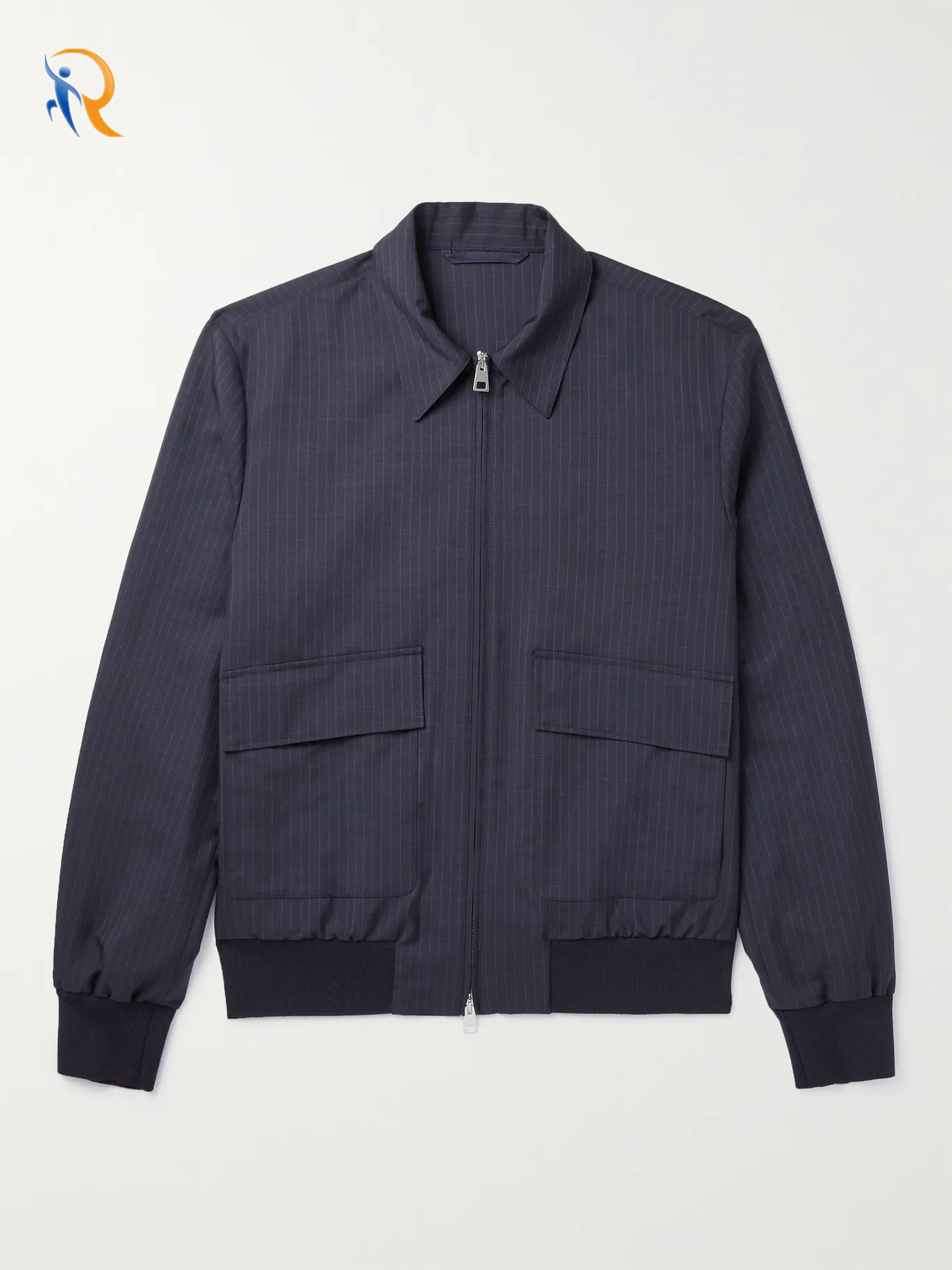 product-Ruiteng-Fashion Wholesale Pinstriped Blouson Jacket for Men 2022 Jkt-033-img