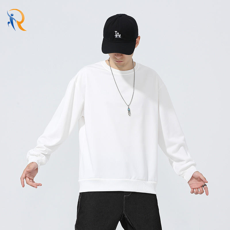 Mens Athleisure Casual Style Pullover Sweater