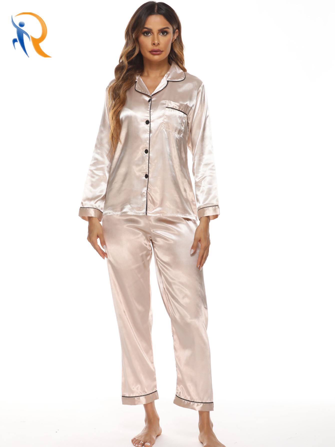 product-Ruiteng-Comfy Womens Cotton Soft Hand Feel Pajamas Set-img