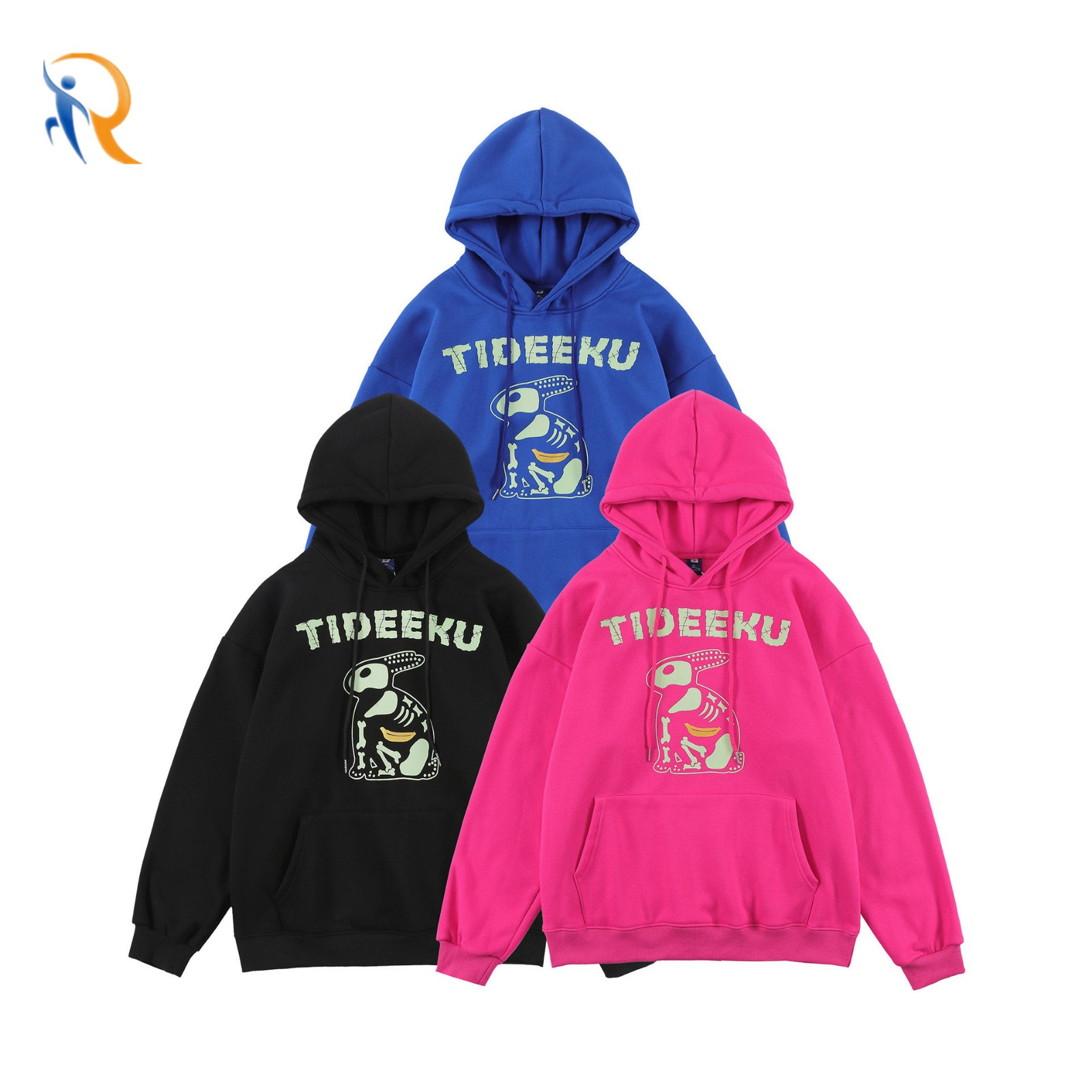 product-Ruiteng-Mens Falldays Wear Casual Style Puff Printing Hoodies-img